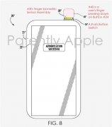 苹果iPhone新专利曝光:电源键集成指纹识别